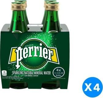 Vittel Perrier Water Bottles -16 x 330 Ml