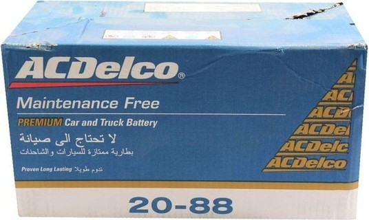 ACDelco Battery For Car Capacity - 88Ah