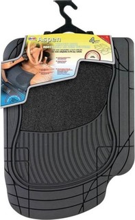 Ototop Cosmic Car Mats - 5 Pcs - Black