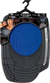 Ototop Tango Car Mats - 5 Pcs - Blue Black