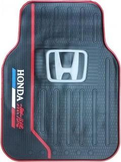 Universal Original Car Floor Mats - 5 Pcs - Black - Honda