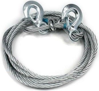 Generic Steel Wire Car Towing Rope - 7 Tons