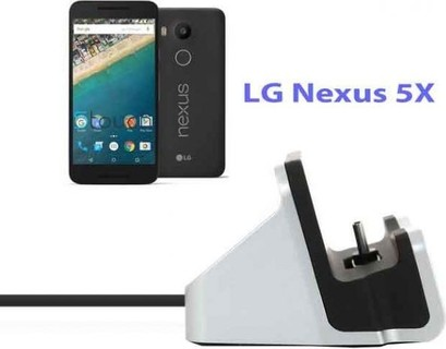For LG Nexus 5X - Regentech USB 2.0 Type-C 2-in-1 Data Hotsync Charger Charging Cradle Dock