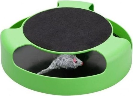 As Seen on TV Miles Kimball Catch the Mouse Cat Toy - Green