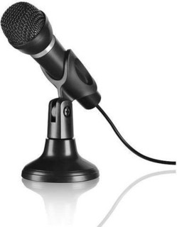Speedlink SL-8703-BK CAPO Desk & Hand Microphone, black