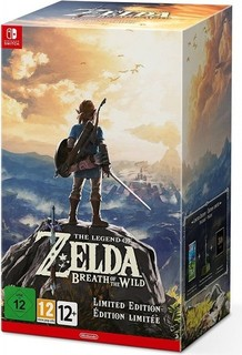 Nintendo The Legend of Zelda: Breath of the Wild - Limited Edition   Switch