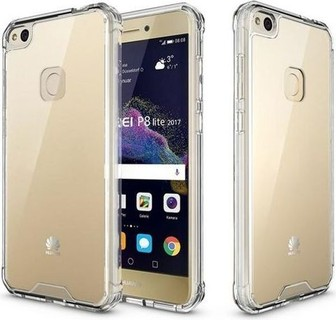 Generic Huawei P8 Lite Anti Shock Back Thick Silicone Case - Clear