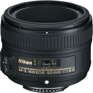 Nikon AF-S - NIKKOR 50MM f 1.8G Lens