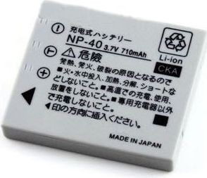 Fujifilm Rechargeable Lithium Ion Fuji Film Battery NP-40