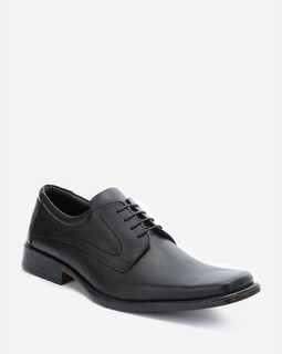 Artwork Upper Stitches Classic Shoes - Black