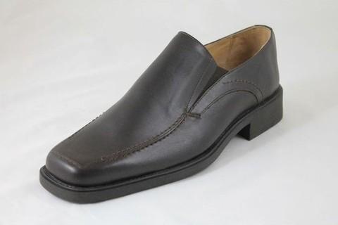 Lavorazione Artigiana Genuine Leather Dress Shoes - Brown