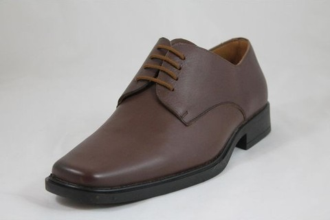 Lavorazione Artigiana Leather Classic Shoes - Brown