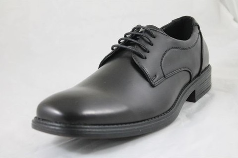 Shoebox PU Leather Dress Shoes -Black