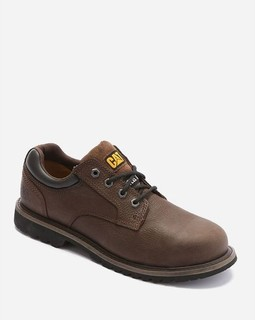 Caterpillar Leather Safety Boots - Brown