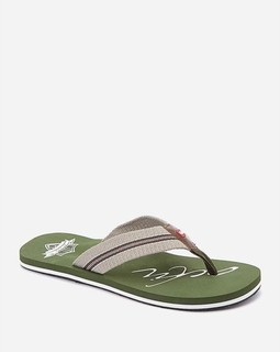 Activ Printed Slipper - Olive
