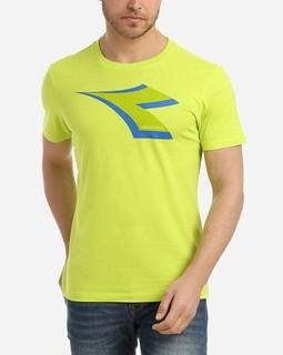 Diadora Printed T-Shirt - Lime Green