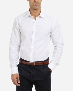 Concrete Solid Classic Shirt - White