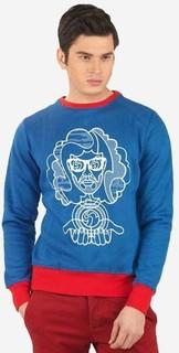 Ravin Men Sweat Shirt-Royal Blue
