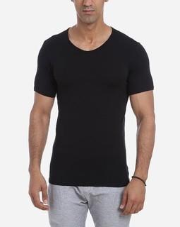 Dice V-Neck Under Shirt Black