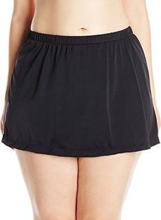 Maxine of Hollywood Women's Plus-Size Skirted Bikini Bottom