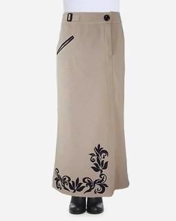 Giro Maxi Skirt - Beige