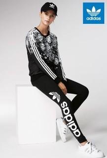Black adidas Originals Black Linear Legging