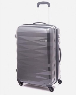 American Tourister Crystalite spinner 20 inch dark gray cabin size