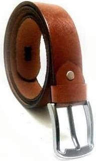 Ramses Leather Belt - Light Brown