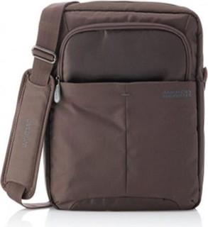 Samsonite American Tourister Speedair Messenger Bag for 12' Laptops - Brown