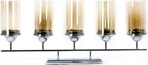 Pinnacle Spaces KN-017 Straight Candle Holder - 5 Holders
