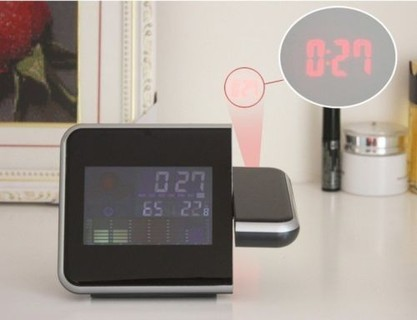 Other LCD LED Projector Alarm Clock thermometer humidity Calendar snooze
