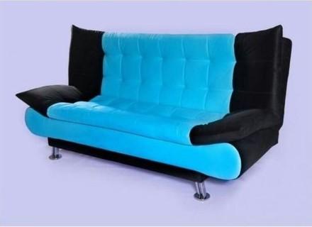 Art Home Sofa Bad - 3 Seater - Turquoise Black