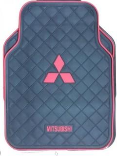 Universal Original Car Floor Mats - 5 Pcs - Black - Mitsubishi
