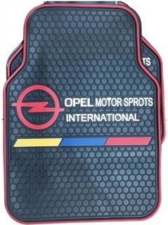 Universal Original Car Floor Mats - 5 Pcs - Black - Opel