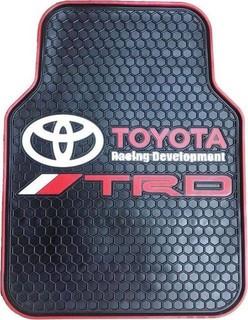 Universal Original Car Floor Mats - 5 Pcs - Black - Toyota