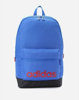 Adidas Front Printed Logo Backpack - Blue