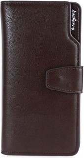 Baellerry Male's Wallet Three-folded Credit Card Coffee