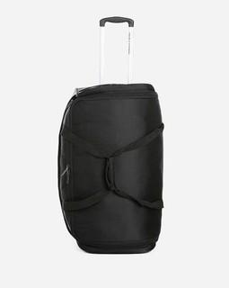 Delsey Solid Duffle Trolley Bag - Black