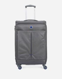 Delsey Trolley Luggage - Dark Grey