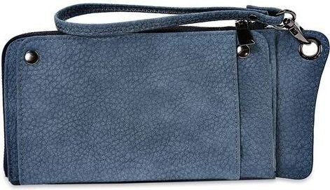 Fashion Multi-functional PU Tote Wallet - Blue