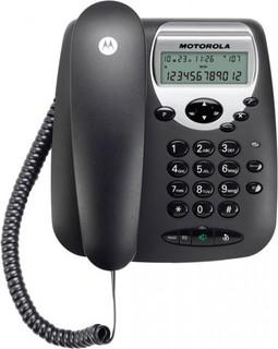Motorola CT2 Corded Landline Phone (Black)
