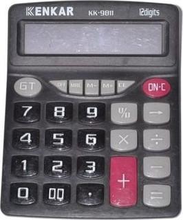 As Seen on TV Kk9811 Kenkar ELECTORNIC Desk Calculator - Black