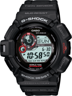 Casio G-9300-1DR Resin Watch - Black