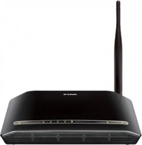 D-LINK DSL-2730U Wireless ADSL Router 150MB
