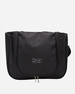 Ravin Makeup Bag - Black