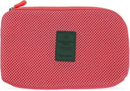 TRAVEL SEASON Portable Cosmetic Bags - Red
