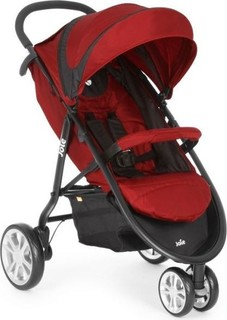 Joie litetrax3 Travel System Apple - Red and Black