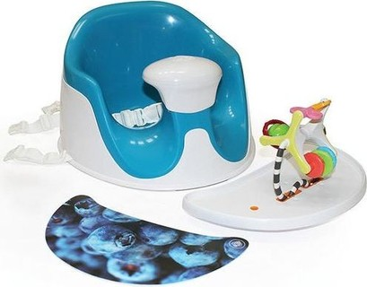 Prince Lionheart BebePOD Chubs Plus Baby Sitter and Booster Seat - Berry Blue