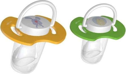 TOT Care Glow in the Dark Pacifier - Set Of 2 - Yellow Green