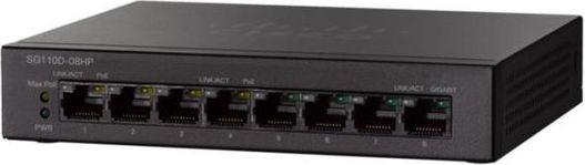 Cisco 8 Port Gigabit 4 Port POE Switch